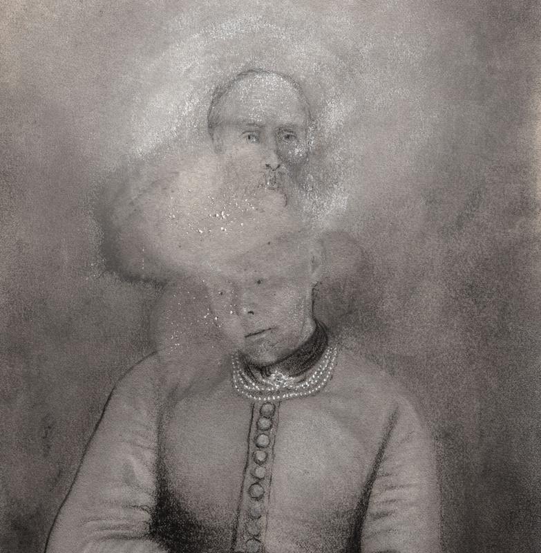 David - Fontelautus Vinyl LP  |  Clear/black ghost marble